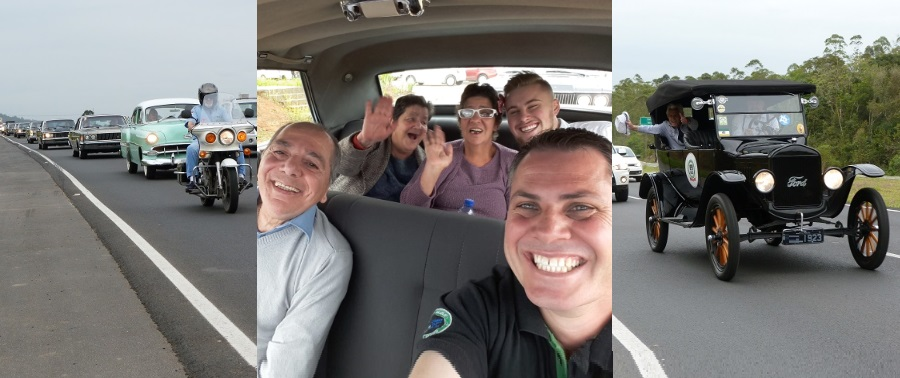 3º PASSEIO DE VOLTA AO PASSADO com os Idosos do Asilo São Vicente de Paulo realizado dia 06 de outubro de 2018 em Criciúma/SC