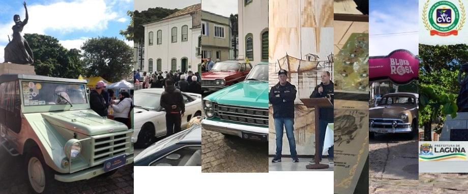Veteran Car Sul Catarinense prestigia o 2º Encontro de Carros Antigos em LAGUNA/SC realizado dia 31 de Julho de 2021