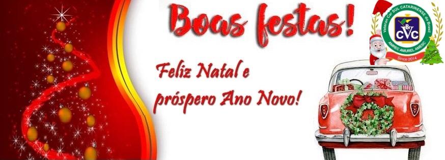 Veteran Car Sul Catarinense deseja a todos um ano novo repleto de realizações e conquistas BOAS FESTAS!