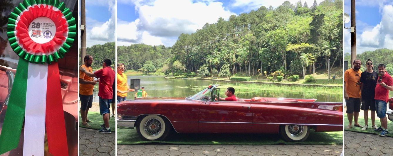 Veteran Car Sul Catarinense é premiado no 28º Encontro Sul Brasileiro de Carros Antigos de 15 a 17 de novembro de 2019 em Jaraguá do Sul/SC