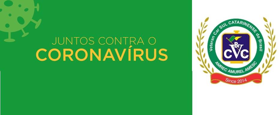 JUNTOS CONTRA O CORONAVÍRUS - JUNTOS SOMOS MAIS FORTES!