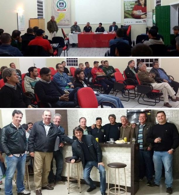 Terceira reunião mensal de 2016 do Veteran Car Sul Catarinense realizada dia 03 de maio em Tubarão/SC