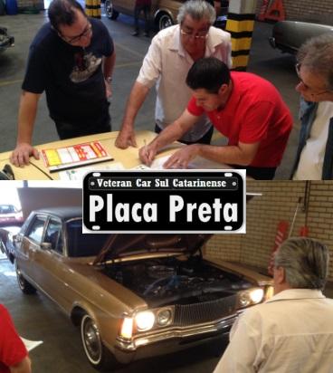 Veteran Car Sul Catarinense realizou a sua primeira vistoria para obtenção de Certificado de Originalidade (Placa Preta)