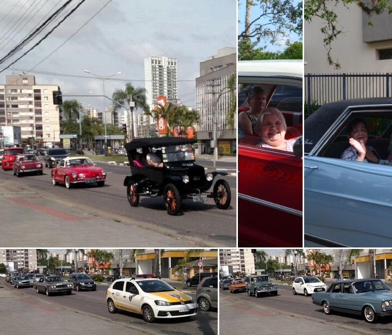 2º PASSEIO DE VOLTA AO PASSADO com os Idosos do Asilo São Vicente de Paulo realizado dia 25 de novembro de 2017 em Criciúma/SC