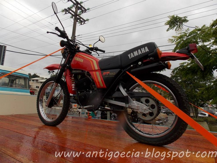 1983 Yamaha DT 180