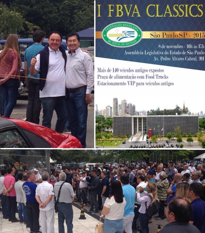 Presidente do Veteran Sul Catarinense visitou o I FBVA CLASSICS em São Paulo/SP