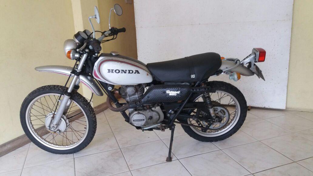 1975 Honda XL Motorsport