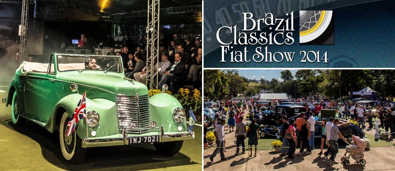 Veteran Car Sul Catarinense recebeu premiação no BRAZIL CLASSICS FIAT SHOW 2014 realizado de 18 a 22 de junho de 2014 em Araxá/MG