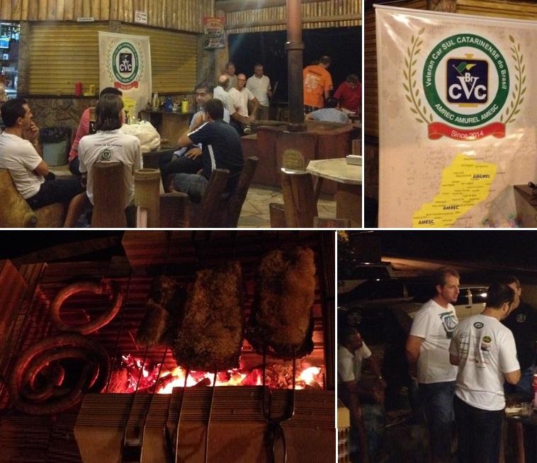 Segunda reunião mensal de 2016 do Veteran Car Sul Catarinense realizada dia 06 de abril em Braço do Norte/SC