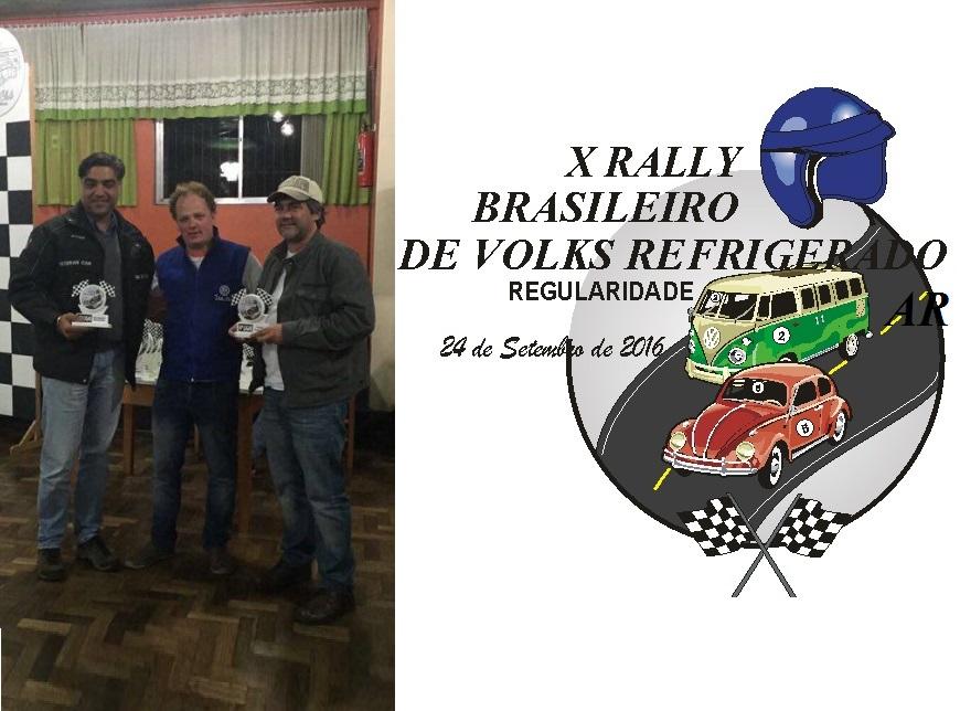 Jetender Kalsi, João Ariano e Mauricio Pereira, sócios do Veteran Car Sul Catarinense participaram do X RALLY JARDIM DA SERRA GAÚCHA DE REGULARIDADE realizado dia 24 de setembro de 2016 em Nova Petrópolis/RS