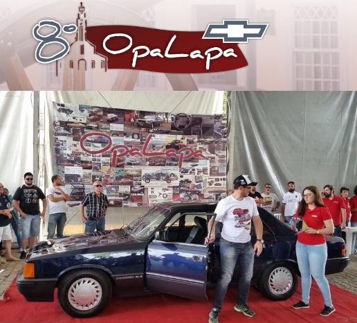 Veteran Car Sul Catarinense é premiado no 8º OPALAPA em Lapa/PR realizado domingo dia 19 de novembro de 2017.