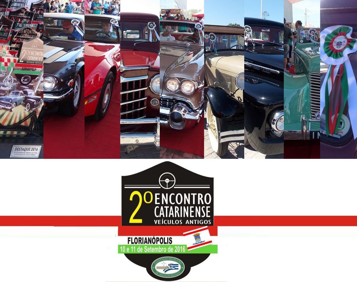 Veteran Car Sul Catarinense participou e faturou sete (07) prêmios destaque no 2º ENCONTRO CATARINENSE DE VEICULOS ANTIGOS realizado dias 10 e 11 de setembro de 2016 em Florianópolis/SC