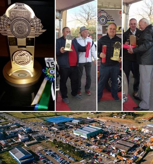 Veteran Car Sul Catarinense participou e faturou três (03) prêmios destaque no 5º ENCONTRO DE CARROS ANTIGOS E CLÁSSICOS realizado dias 05 e 06 de agosto em Lages/SC