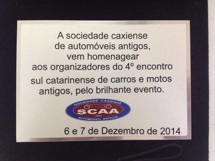Dia 07 de dezembro de 2014 em Criciúma/SC