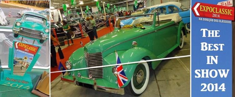 Veteran Car Sul Catarinense fatura premiação máxima ¨The Best in Show¨ na EXPOCLASSIC 2014 realizada de 22 a 24 de agosto de 2014 em Novo Hamburgo/RS