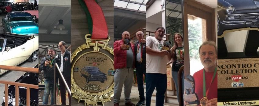 Veteran Car Sul Catarinense participou e faturou quatro (04) prêmios destaque no 1° ENCONTRO CAR COLLECTION realizado de 08 a 10 de março de 2019 em GRAMADO/RS