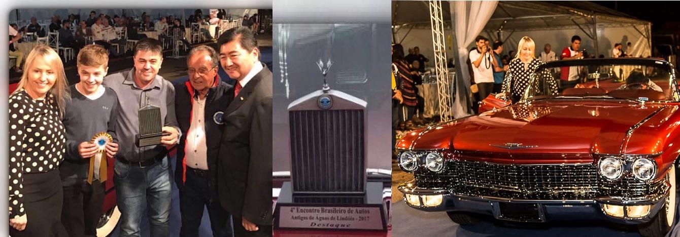 Veteran Car Sul Catarinense é premiado no IV EBAA-Encontro Brasileiro de Autos Antigos em Águas de Lindóia/SP 2017