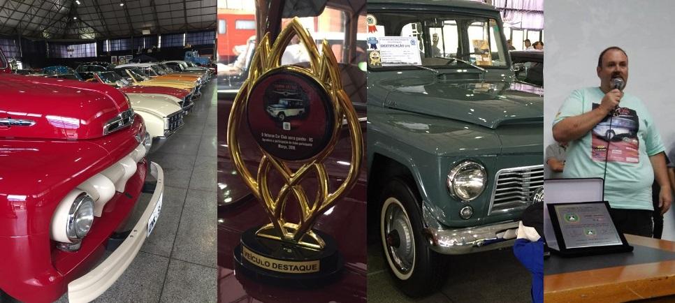 O Veteran Car Sul Catarinense participou e faturou três prêmios destaque no 4° ENCONTRO DE CARROS ANTIGOS DE NOVA PETRÓPOLIS/RS realizado de 02 a 04 de março de 2018.