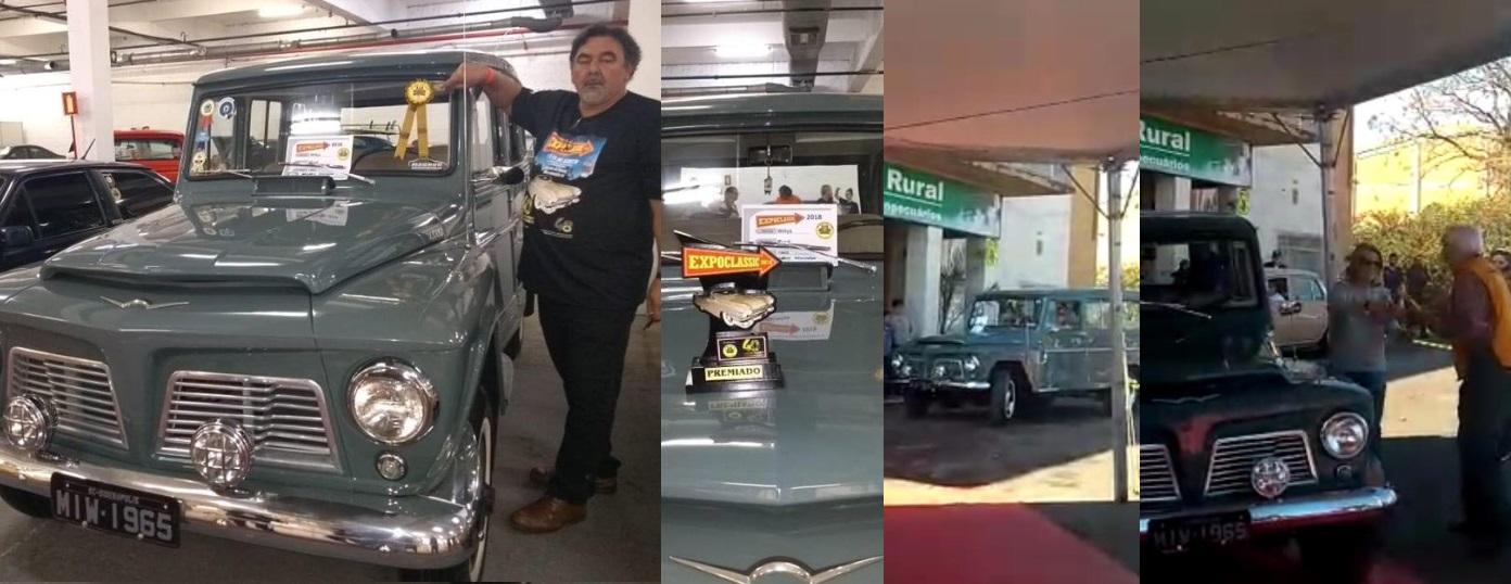 O Veteran Car Sul Catarinense participou do 6º Encontro de LAGES dias 28 e 29 de julho e 2018 e da EXPOCLASSIC 2018 em Novo Hamburgo/RS de 17 a 19 de agosto de 2018