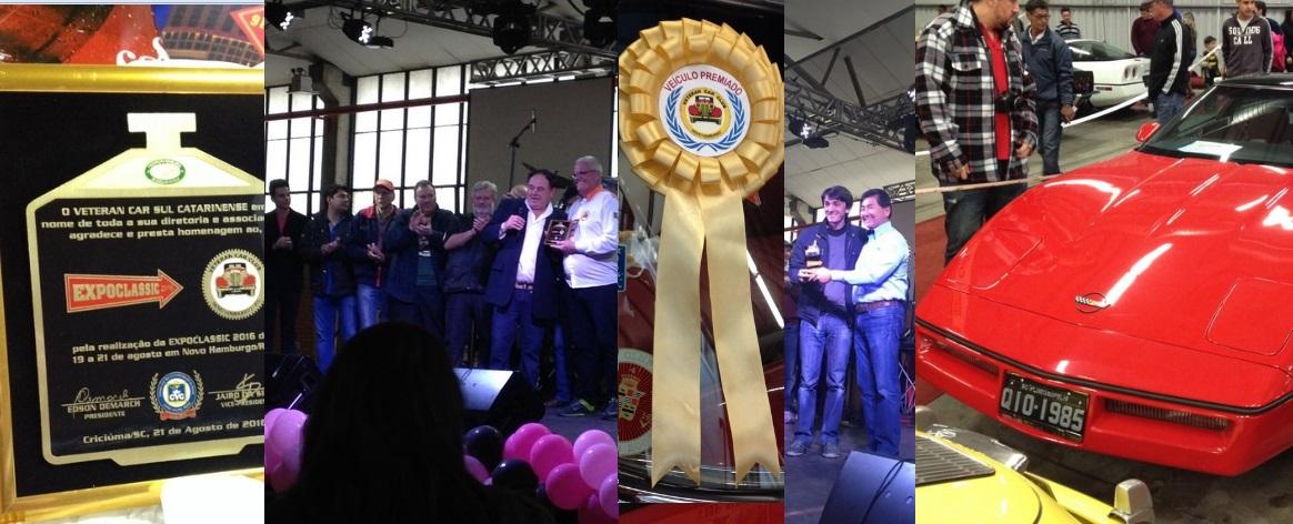 O Veteran Car Sul Catarinense participou da EXPOCLASSIC 2016 realizada de 19 a 21 de agosto em Novo Hamburgo/RS