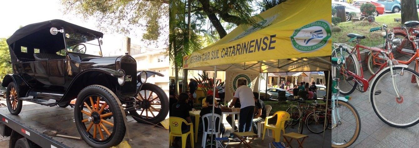 Veteran Car Sul Catarinense prestigia o 9º Encontro de Veículos Antigos de URUSSANGA/SC realizado sábado dia 13 de maio de 2017