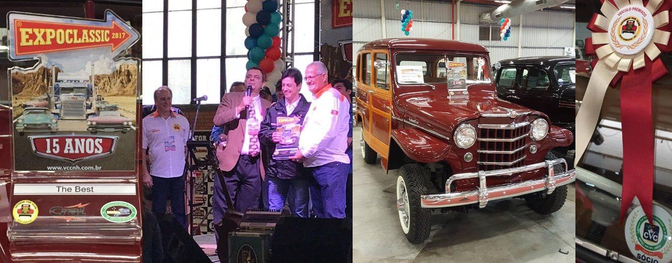 Veteran Car Sul Catarinense fatura a premiação máxima ¨The Best¨ na EXPOCLASSIC 2017 realizada de 18 a 20 de agosto em Novo Hamburgo/RS