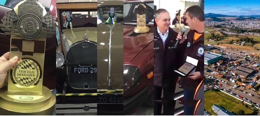 O Veteran Car Sul Catarinense participou e faturou três prêmios destaque no 5° ENCONTRO DE CARROS ANTIGOS E CLÁSSICOS EM LAGES/SC realizado dias 05 e 06 de agosto de 2017.