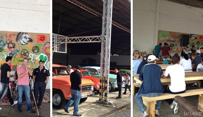 Dr. Ricardo Choma, sócio do Veteran Car Sul Catarinense realizou CONFRATERNIZAÇÃO de antigomobilistas dia 09 de junho de 2013 em Criciúma/SC