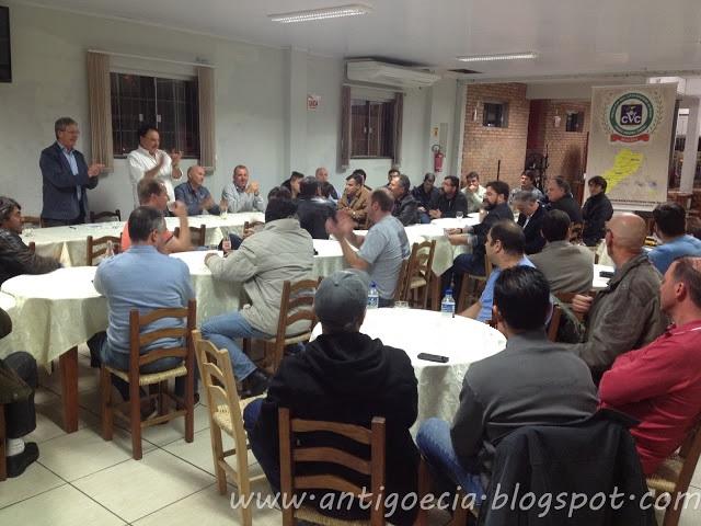 Sexta reunião mensal de 2015 do Veteran Car Sul Catarinense realizada dia 02 de setembro em Turvo/SC