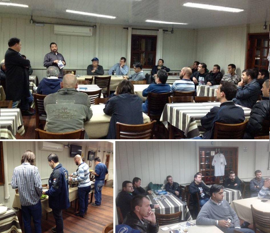 Quarta reunião mensal de 2016 do Veteran Car Sul Catarinense realizada dia 01 de junho em Cocal do Sul/SC