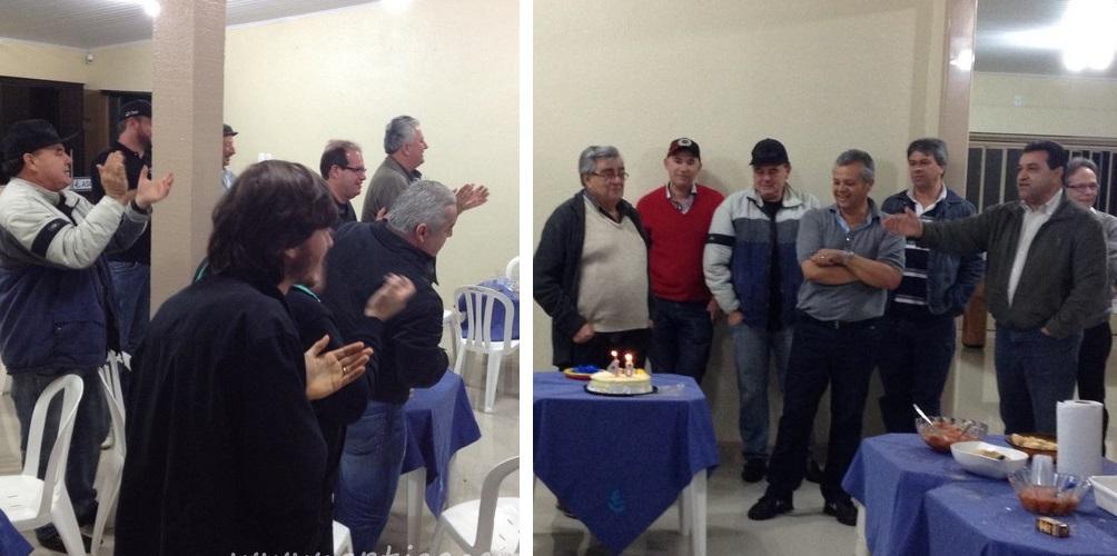 Júlio Fortes, sócio do Veteran Car Sul Catarinense realizou festa de ANIVERSÁRIO dia 11 de junho de 2014 em Tubarão/SC