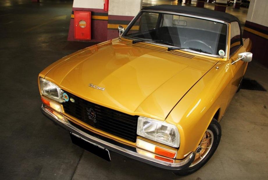 1974 Peugeot 304s Cabriolet
