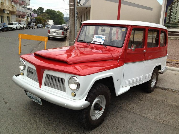 1969 Rural Willys Overland