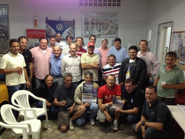 Veteran Car Sul Catarinense visita o KAFER CLUBE de Florianópolis/SC e formaliza convite ao clube.
