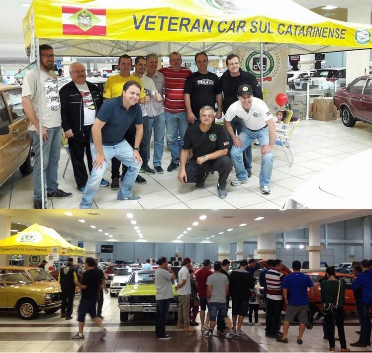 Veteran Car Sul Catarinense prestigia o 5º Juntos & Misturados em SÃO JOSÉ/SC realizado de 26 a 28 de maio de 2017