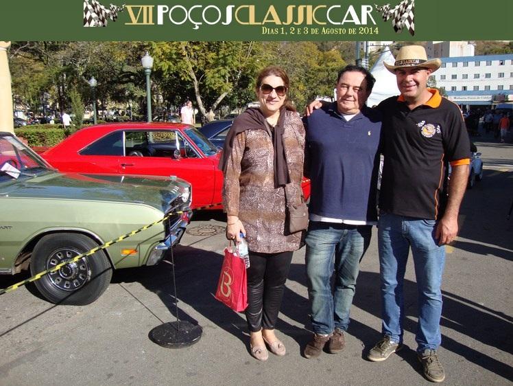 Presidente do Veteran Sul Catarinense visitou o VII POÇOS CLASSIC CAR 2014 em Poços de Caldas/MG