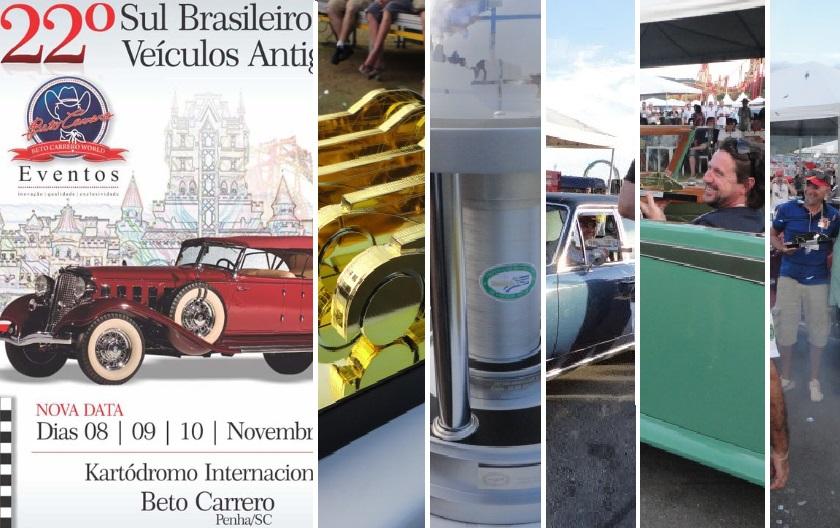 Veteran Car Sul Catarinense recebeu três(03) troféus destaque no 22º ENCONTRO SUL BRASILEIRO DE VEÍCULOS ANTIGOS EM PENHA/SC realizado de 08 a 10 de novembro de 2013.
