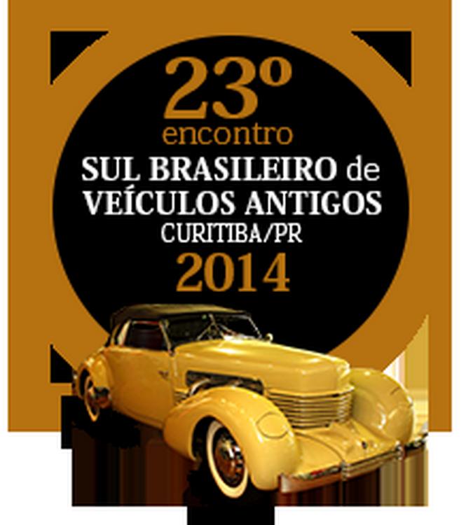23º Encontro Sul Brasileiro de Veículos Antigos de 14 a 16 de novembro de 2014 em CURITIBA/PR