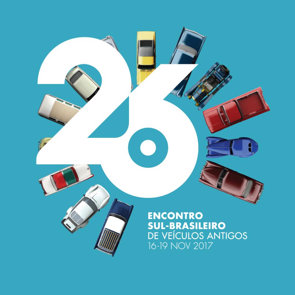 26º Encontro Sul Brasileiro de Veículos Antigos em CURITIBA/PR de 16 a 19 de novembro de 2017