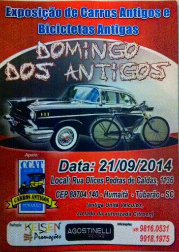 Exposição de Carros Antigos realizado dia 21 de setembro de 2014 em TUBARÃO/SC